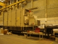 Gas turbine Trailer, coupled to generator for local power generation